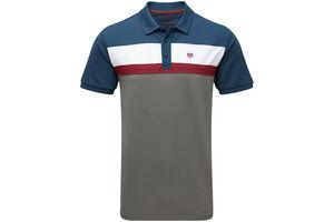 Palm Grove Colour Block Polo Shirt