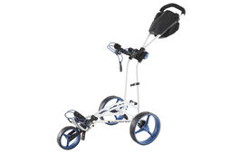 BIG MAX Autofold Flat Fold 3-Wheel Push Trolley
