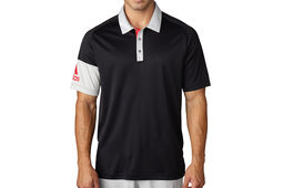 adidas Golf Sleeve Blocked Polo Shirt