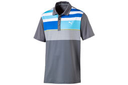 PUMA Golf Road Map Asym Polo Shirt