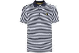 Lyle & Scott Craigelaw Striped Tech Polo Shirt