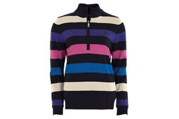 Green Lamb Bevin Striped Ladies Sweater