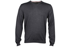 Palm Grove Plain V Neck Sweater
