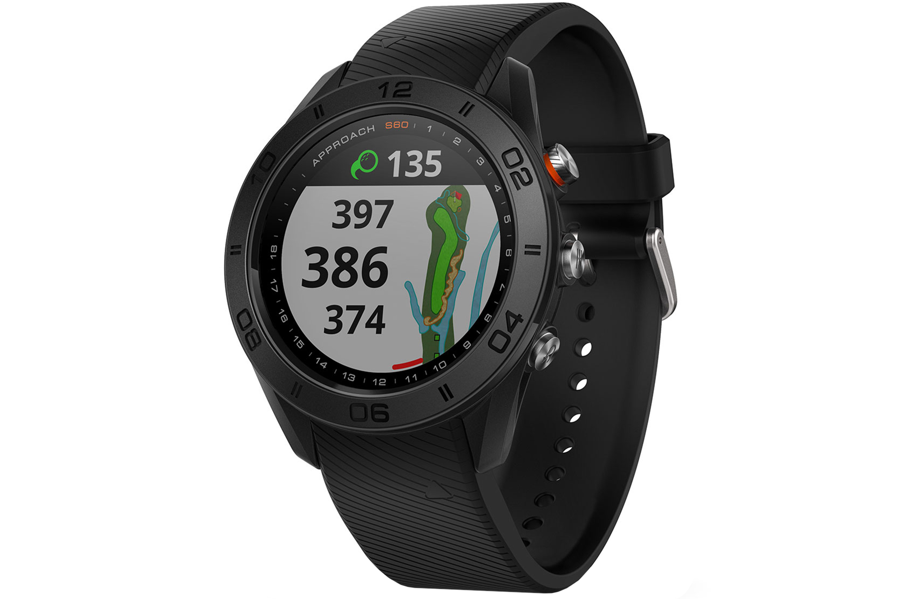 garmin approach s60 gps watch from american golf. Black Bedroom Furniture Sets. Home Design Ideas