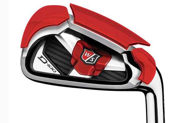 wilson staff d 100 irons steel 5 sw from american golf. Black Bedroom Furniture Sets. Home Design Ideas