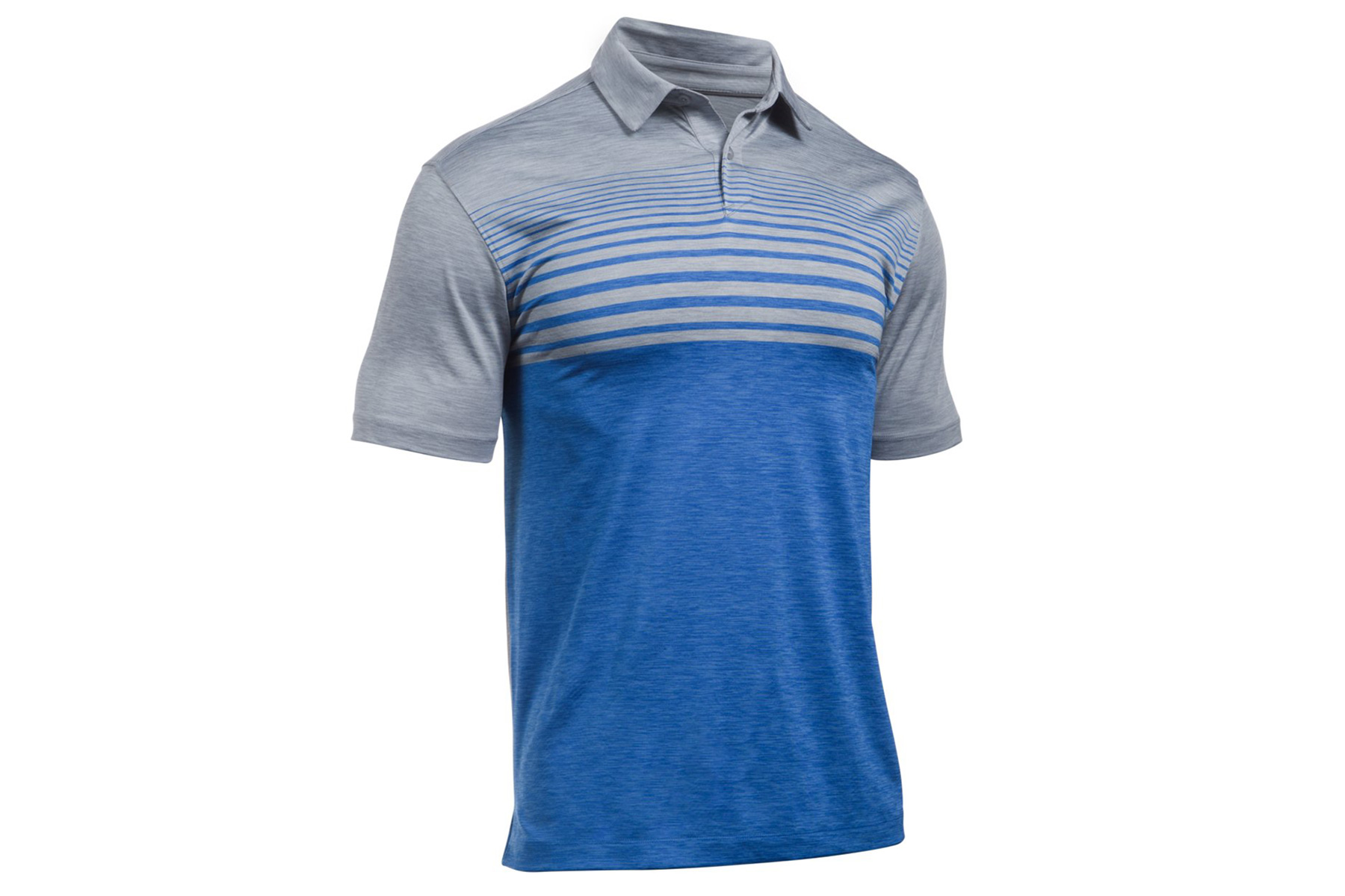 Under Armour Coolswitch Upright Stripe Polo Shirt From