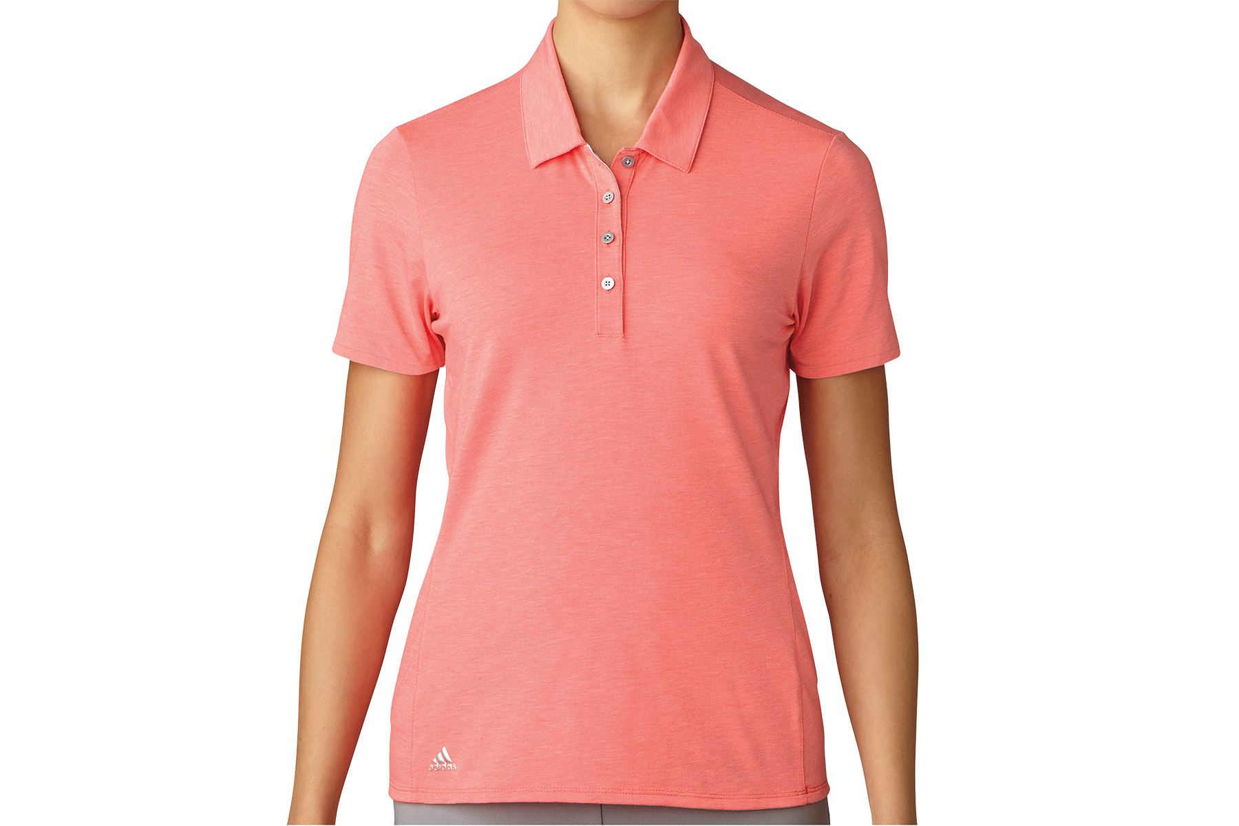 Adidas Golf Essentials Cotton Hand Ladies Polo Shirt From