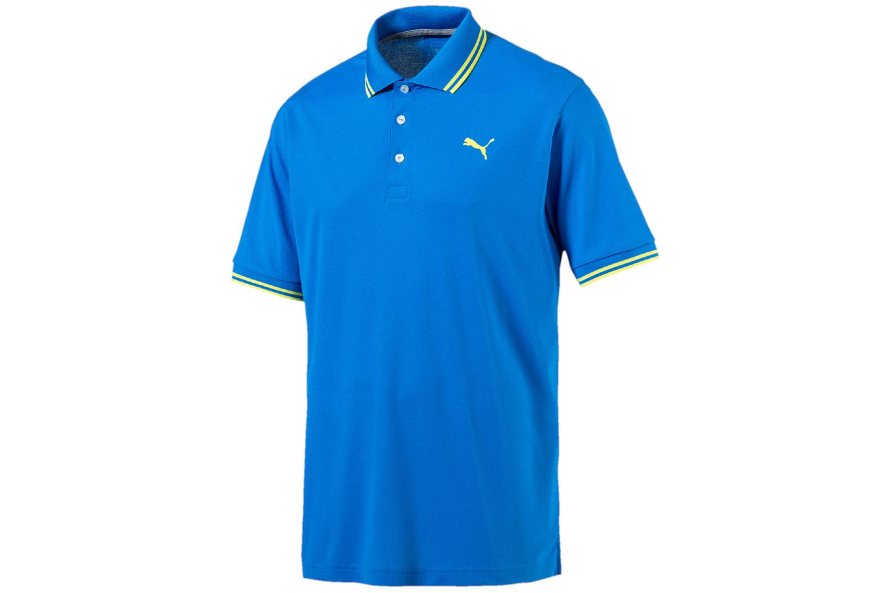 Puma Golf Pounce Pique Polo Shirt From American Golf