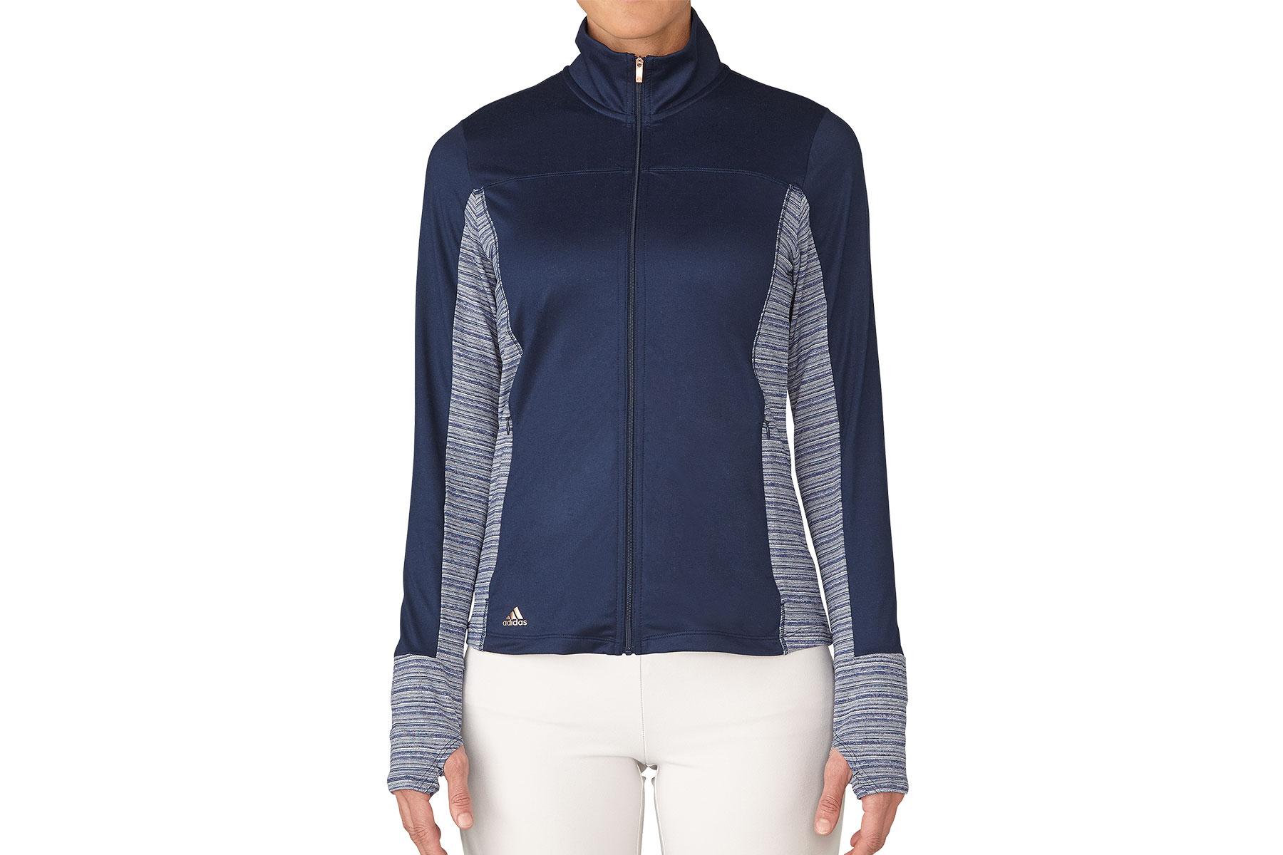 Adidas golf rangewear full zip ladies windshirt from for Housse zip collection captur