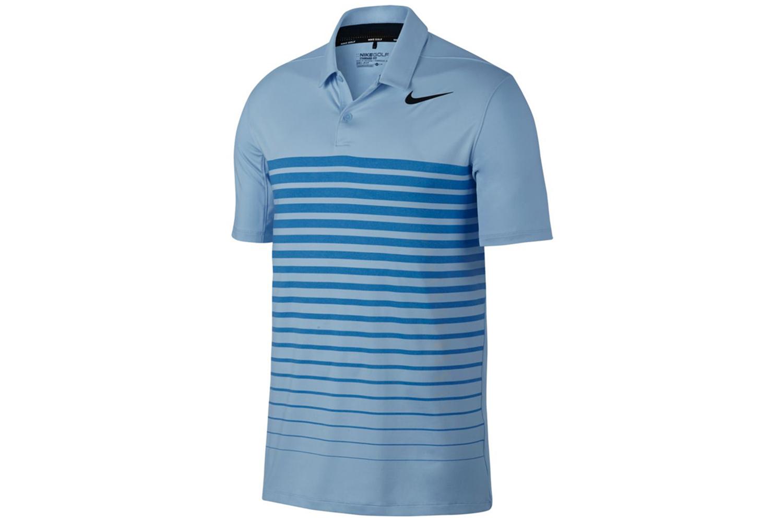 Nike Golf Dry Heather Stripe Polo Shirt From American Golf