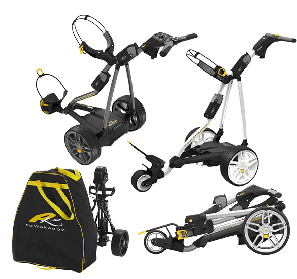 Free Travel Cover with Powakaddy Electric Trolleys