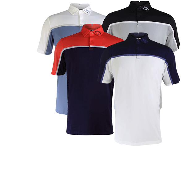 Callaway Golf Performance Colourblock Polo Shirt
