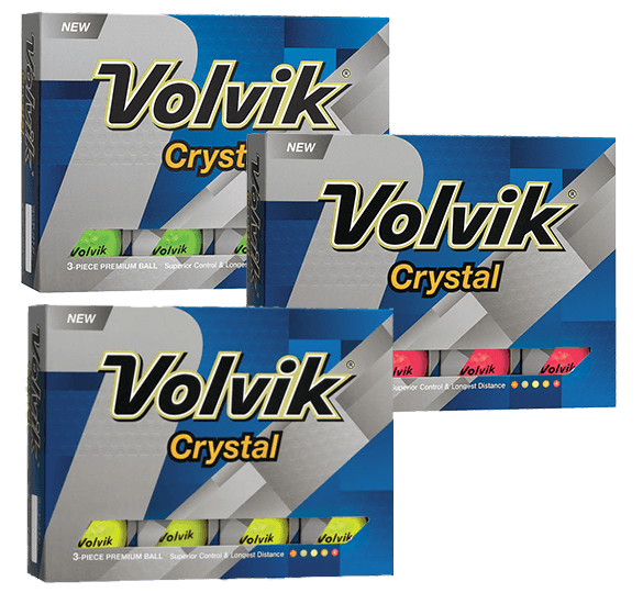 Volvik Crystal 12 Ball Pack