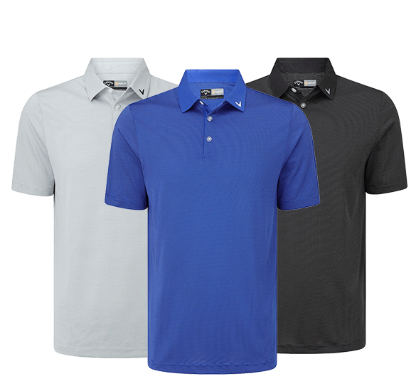 Callaway Golf Stripe Polo Shirt