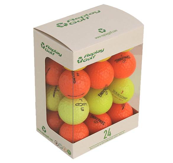 Replay Coloured Lake Balls 24 Ball Pack