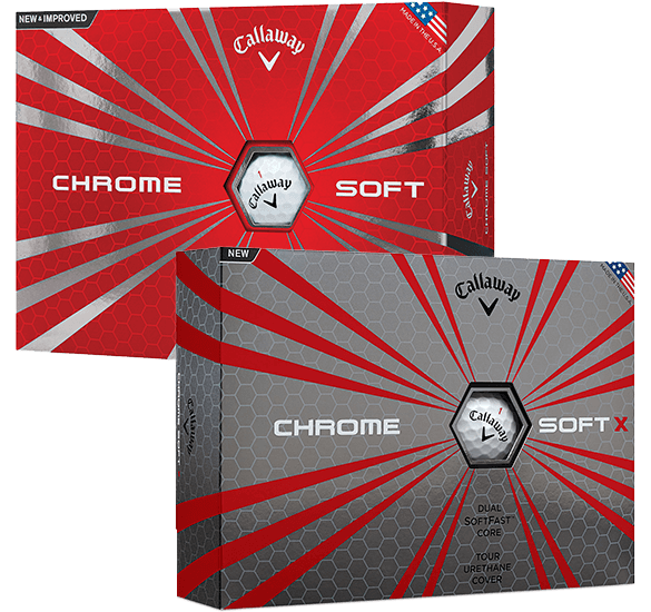 Callaway Chromesoft Balls & Chromesoft X