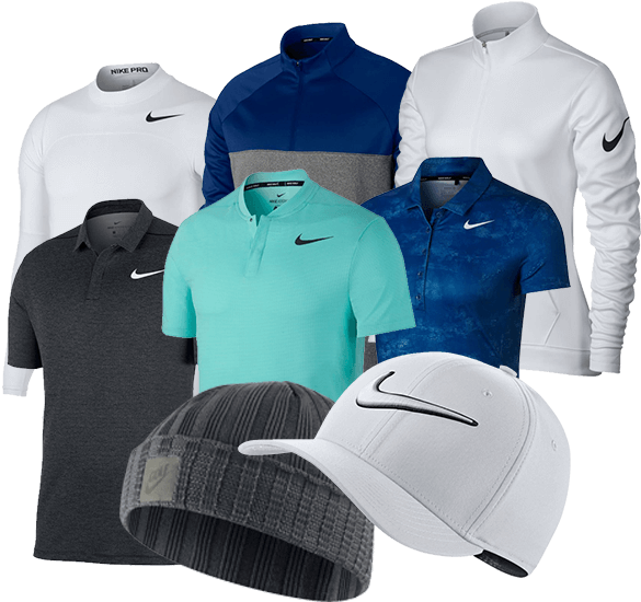 Nike Golf Clothing and Shoes