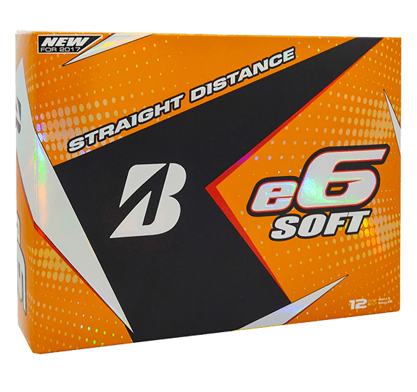 Bridgestone Golf e6 Soft 12 Ball Pack