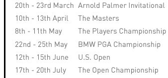 Dates For Your Diary