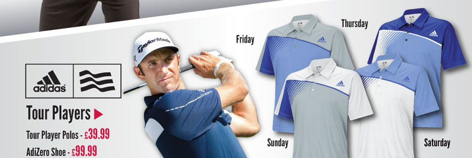 adidas Tour Players Outfits