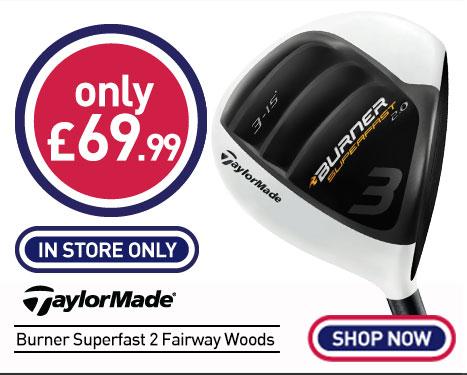 Taylormade Burner Superfast 2 Fairway Woods