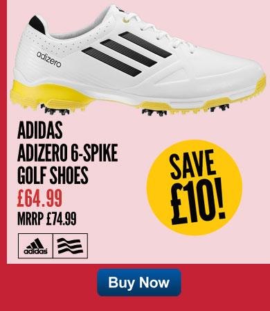 Adidas Adizero 6-spike Golf Shoes