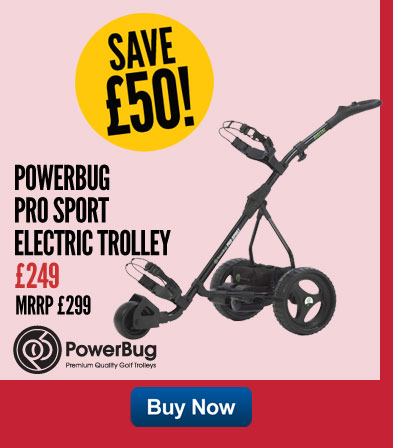 PowerBug Pro Sport Electric Trolley