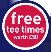 free tee times worth £50