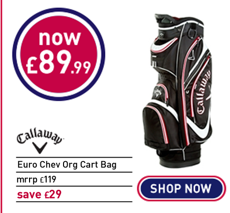Callaway Golf Euro Chev Org Cart Bag