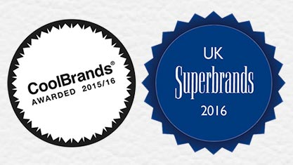 CoolBrand and UK Superbrands Awards For 2016