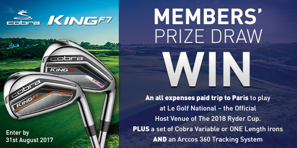 American Golf Free Prize Draw