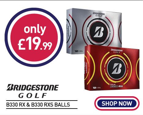 Bridgestone B330 RX & B330 RXS Golf Balls