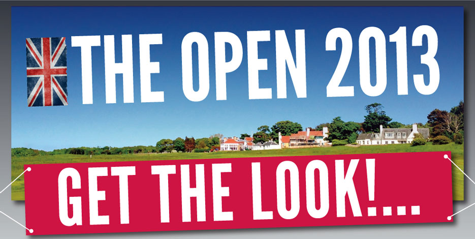 The Open 2013 - Get The Look