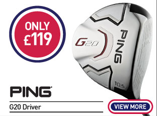 Ping G20 Driver Only £119