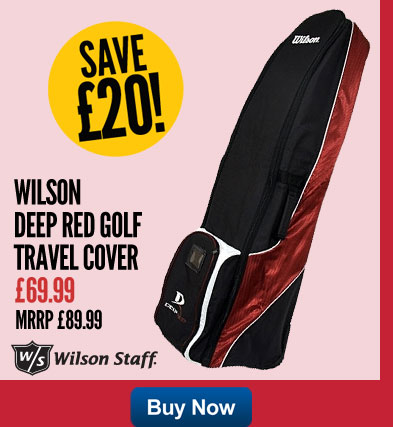 Wilson Deep Red Golf Travel Cover