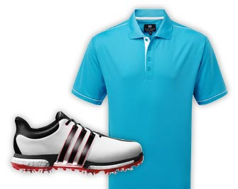 Golf Clothing & Footwear