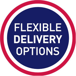 Flexible Delivery Options