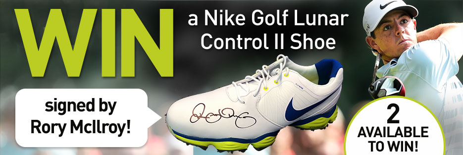Win a Nike Golf Lunar Control II Shoe