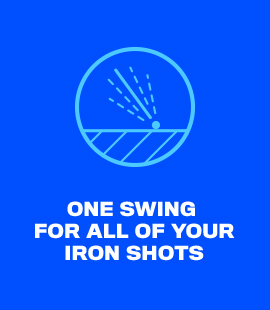 One Swing For All Of Your Iron Shots