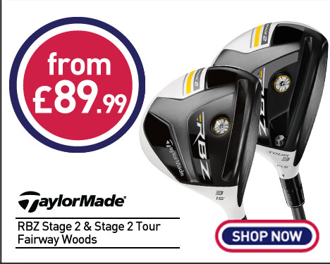 Taylormade RBZ S2 Tour Fairway Woods