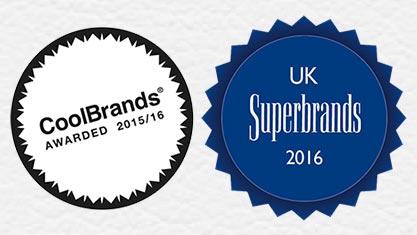 CoolBrand and UK Superbrands Awards For 2016