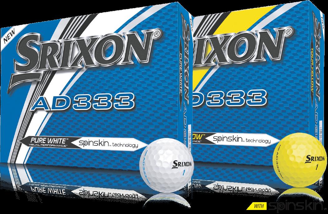 Srixon AD333 balls packs