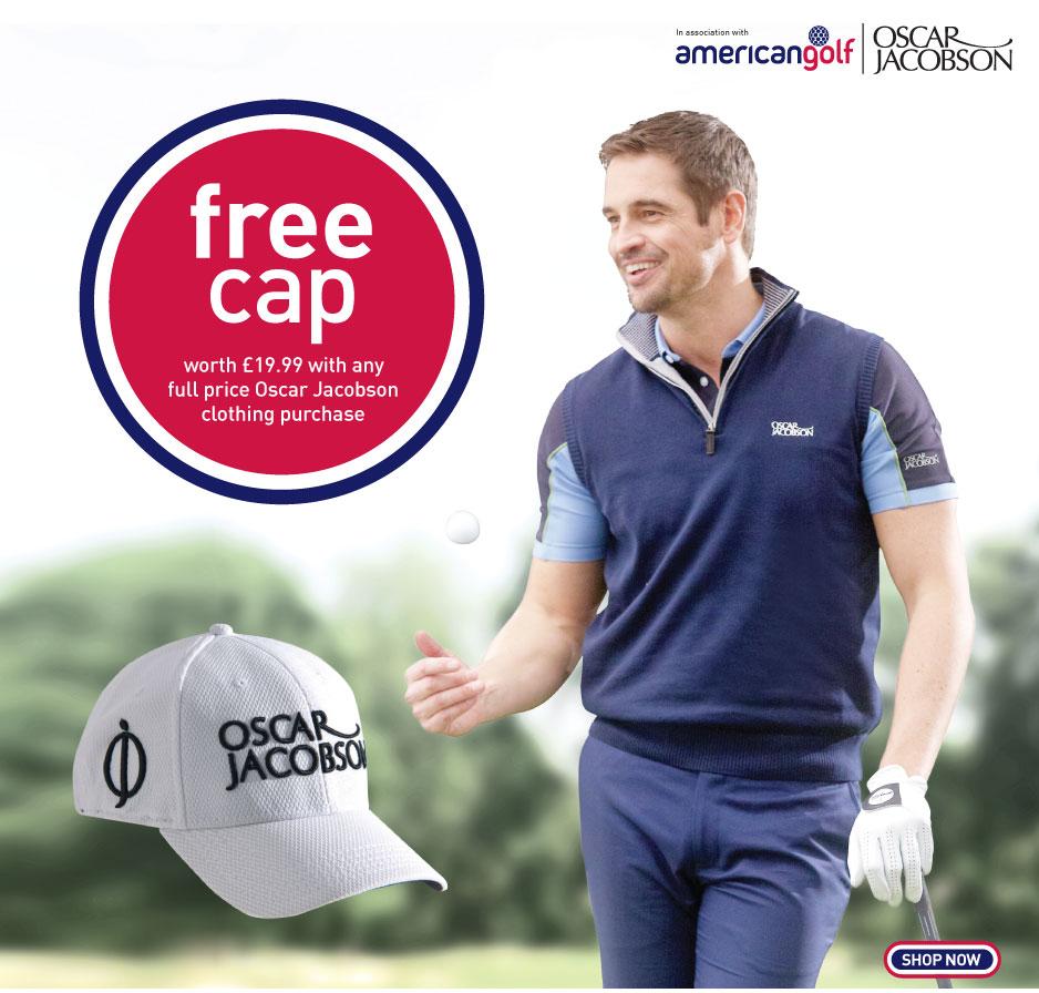 Oscar Jacobson Cap Promotion