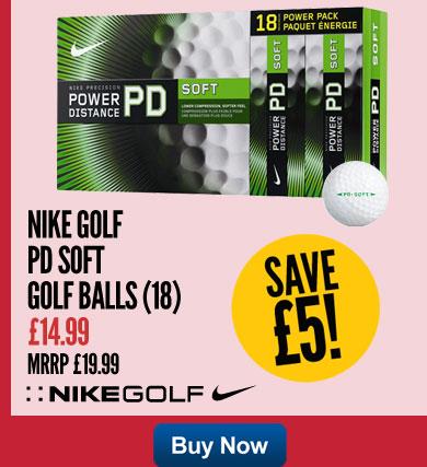 Nike Golf PD Soft Golf Balls (18)