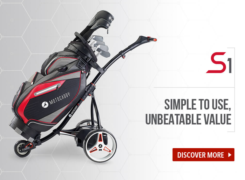 Motocaddy S1 Electric Trolley