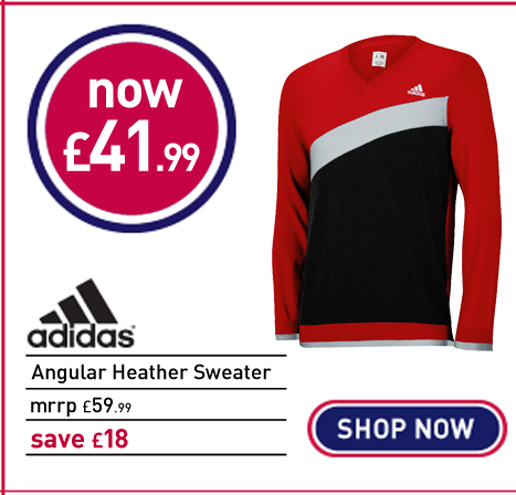 adidas Golf Angular Heather Sweater