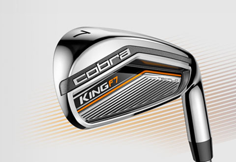 Cobra Golf King F7 Irons - Variable Hero