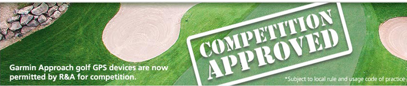 Garmin Approach Golf GPS Devices Are Now Permitted By R&A For Competition