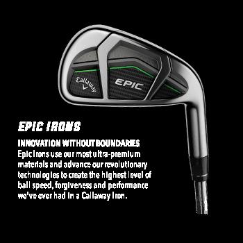 Epic Callaway Irons
