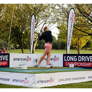Ladies Long Drive Champion 2016